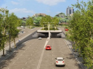 La obra del túnel de Glòries comenzará dentro de un mes