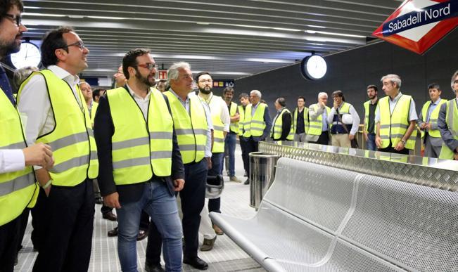 Sabadell estrenar las nuevas estaciones de fgc el 20 de for Centro de sabadell